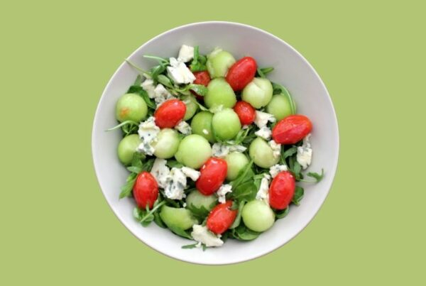 Ensalada de melón Galia