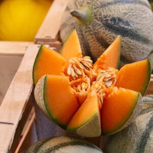 caja melones variados