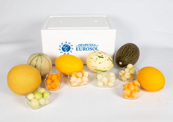 melones variados